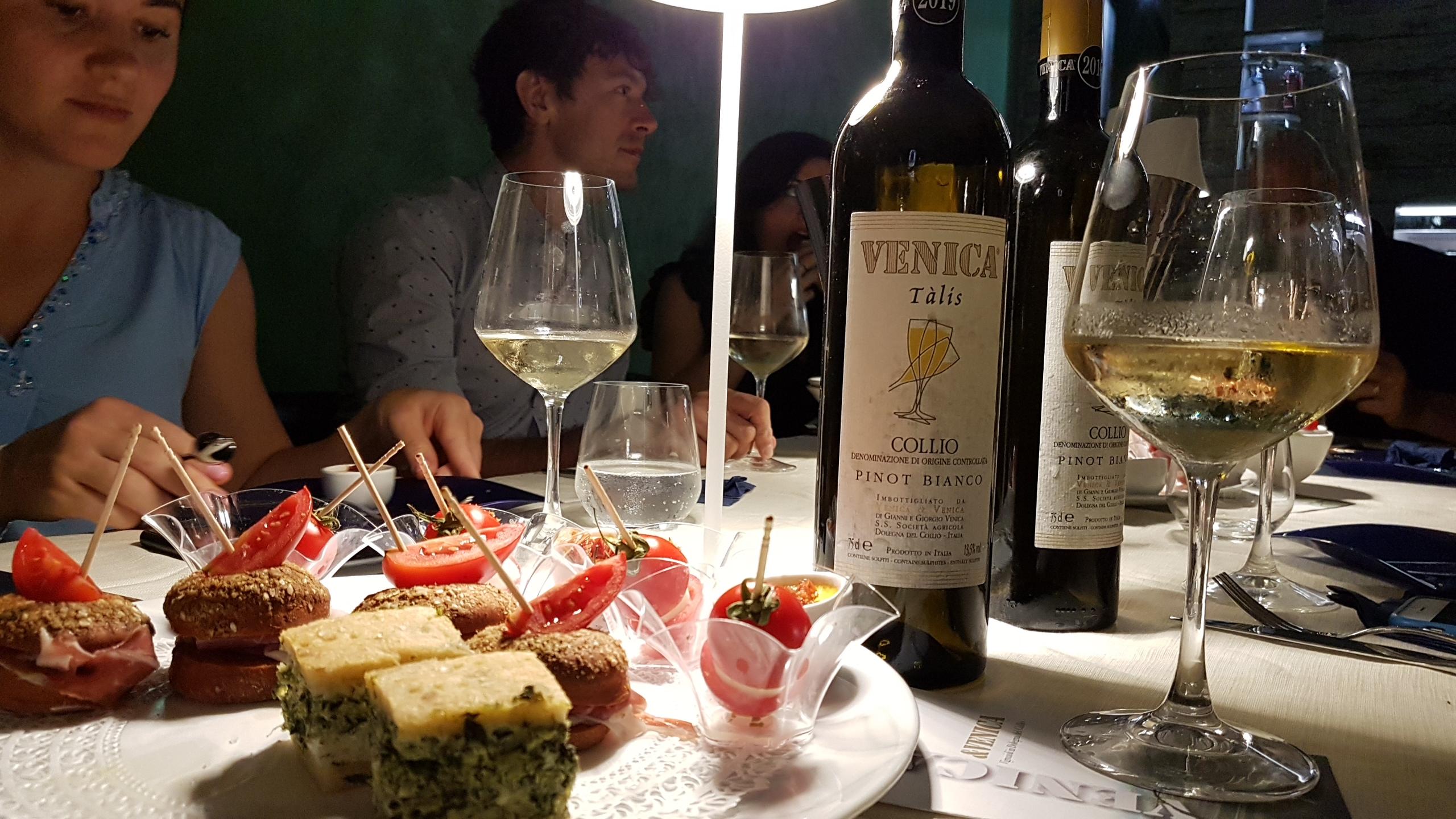 degustazione vini friulani